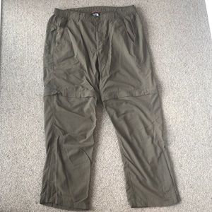 Men's North Face Zip Off Convertible Hiking Pants